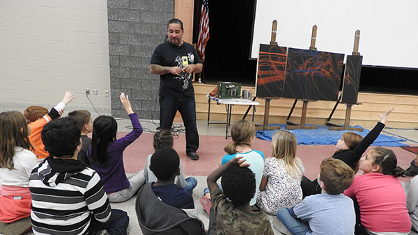 Ramon Trevino and Author Visit